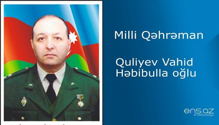 Vahid Quliyev Həbibulla oğlu