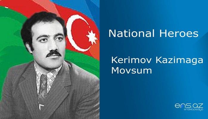 Kerimov Kazimaga Movsum