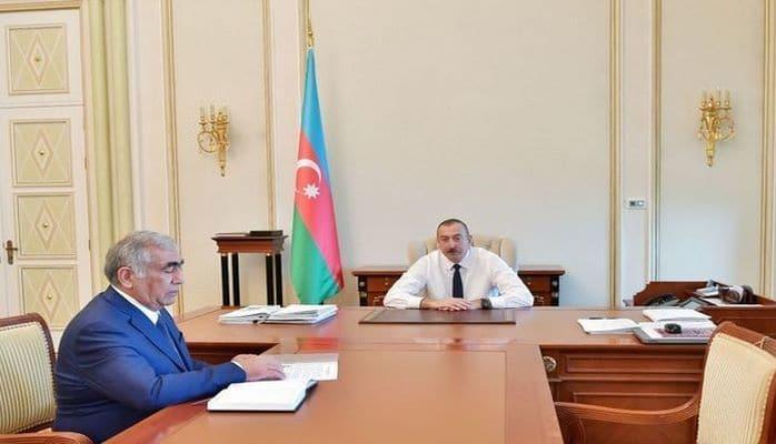 Ильхам Алиев принял Салеха Мамедова