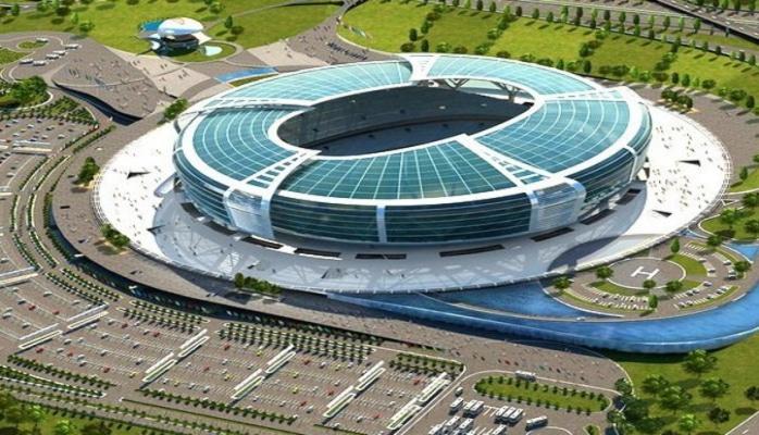 Бакинский олимпийский стадион - один из самых вместительных в СНГ
