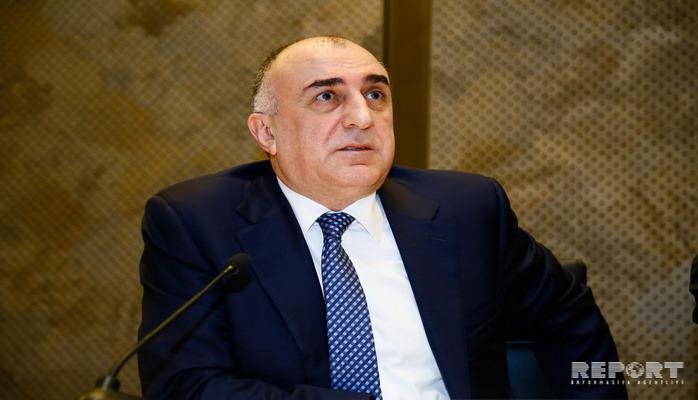 Elmar Məmmədyarov Avropa Komissiyasının rəsmisi ilə görüşüb