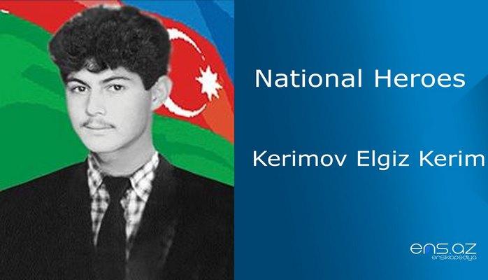 Kerimov Elgiz Kerim