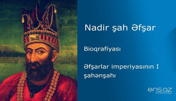 Nadir şah Əfşar