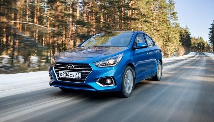 """Rusiyada Hyundai avtomobili sürücüsü 313 km/s sürətlə """"radara düşüb"""""""