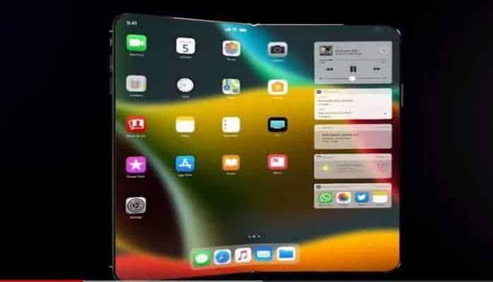 В Сети появилось видео со складным Apple iPhone