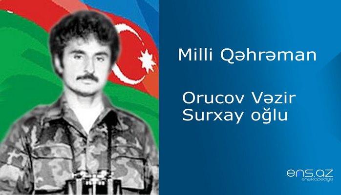 Vəzir Orucov Surxay oğlu