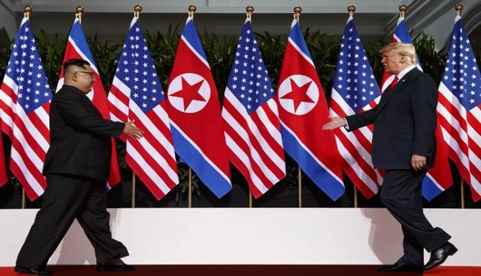 Kim Çen In Trampı Koreyaya dəvət etdi