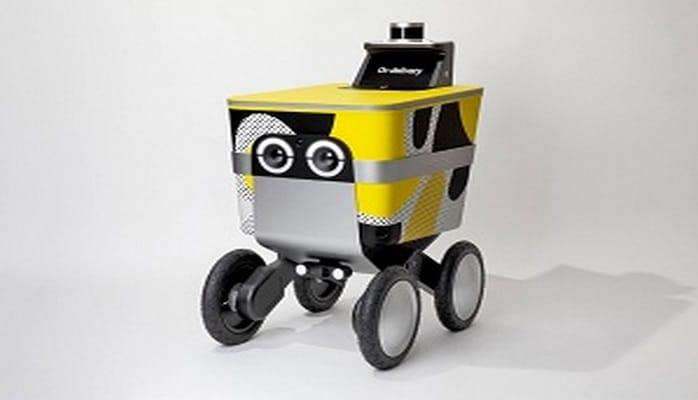 """Kiçik bağlamaların çatdırılması üçün """"Serve"""" adlı robot-kuryer təqdim edilib"""