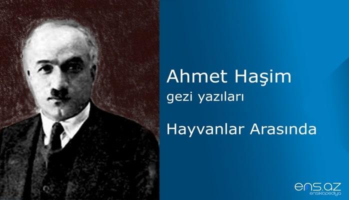 Ahmet Haşim - Hayvanlar Arasında