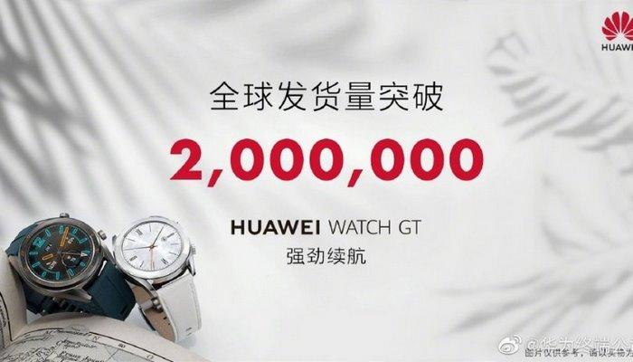 Huawei Watch GT ağıllı saatlarının uğurlu satışı davam edir