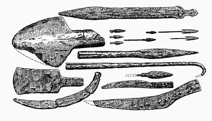 О древних орудиях труда, выявленных из памятников низменного Карабаха