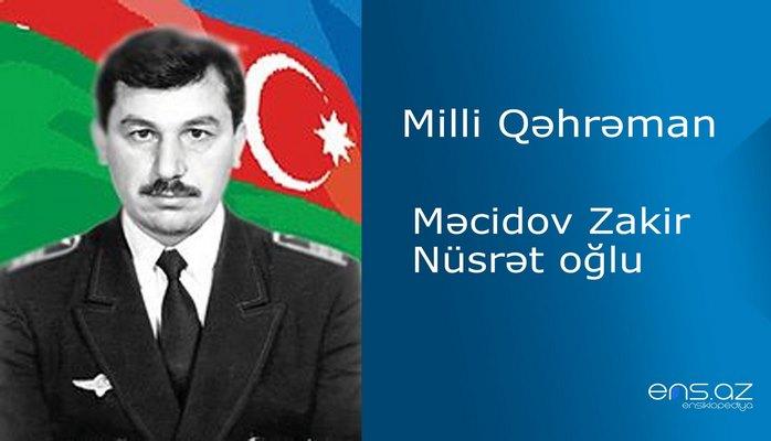 Zakir Məcidov Nüsrət oğlu