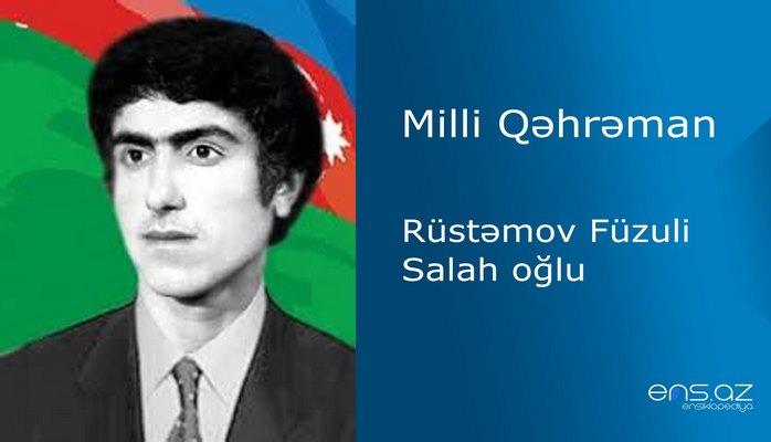 Füzuli Rüstəmov Salah oğlu