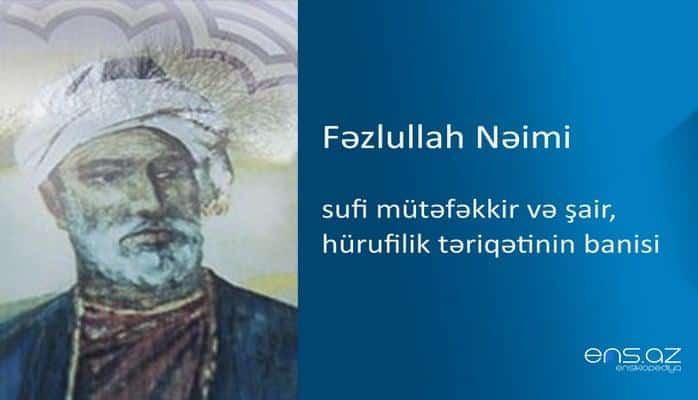 Fəzlullah Nəimi
