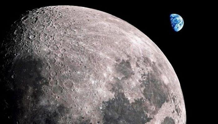 На Луне заподозрили существование жизни