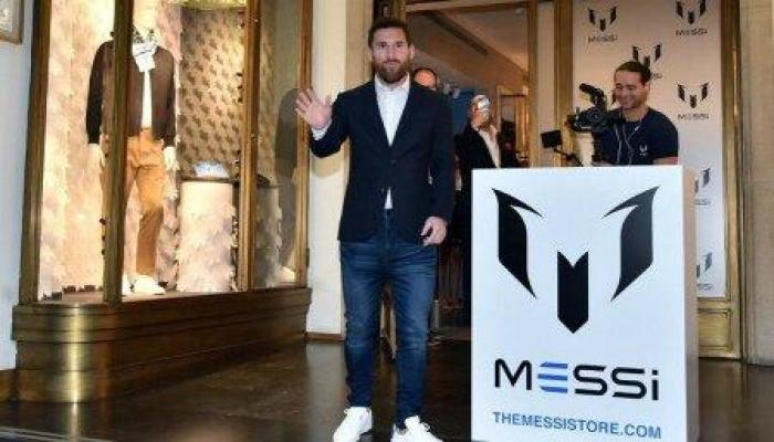 Месси представил собственный бренд одежды
