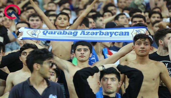 """""""Qarabağ""""dan """"Düdelanj""""la matçı izləyən azarkeşlərə sürpriz"""
