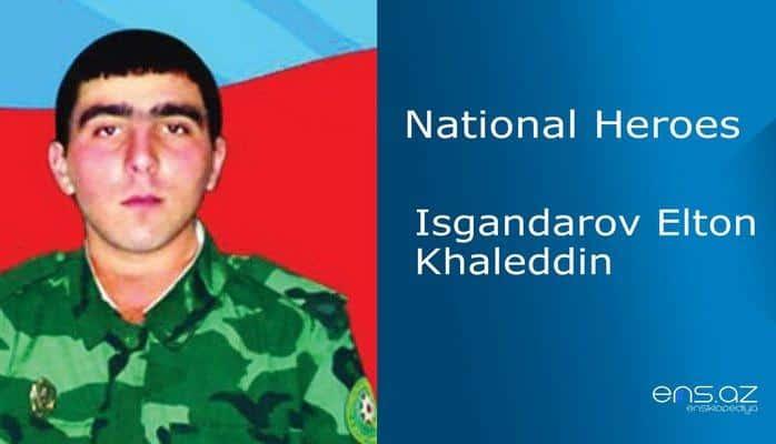 Isgandarov Elton Khaleddin