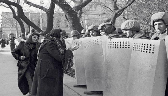 Ввод советских войск в Баку в ночь с 19 на 20 января 1990 года