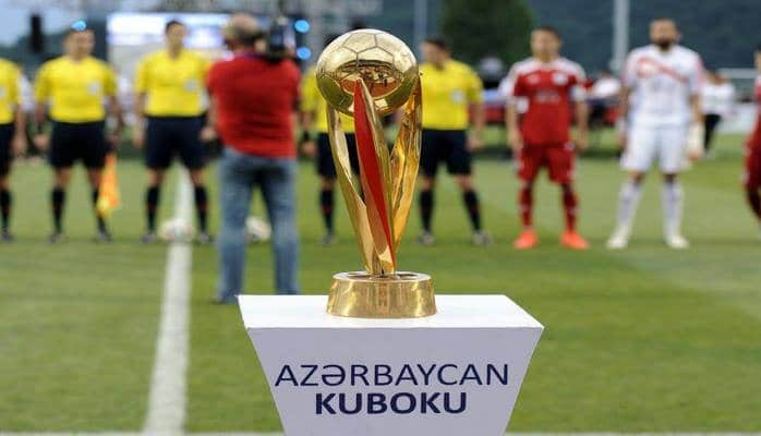 Azərbaycan Kuboku: 1/4 final mərhələsinin cavab oyunlarının cədvəli müəyyənləşib