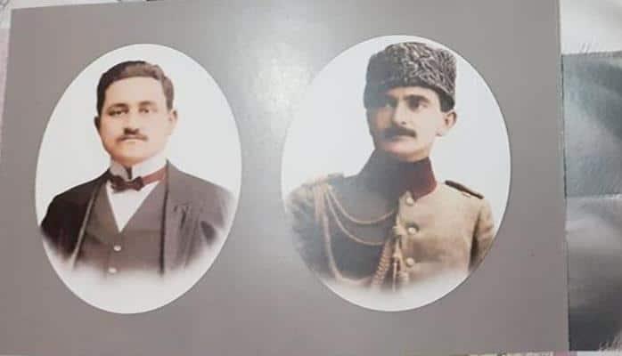 Rəsulzadə və Nuru Paşanın birgə rəsmi olan avro çap olundu