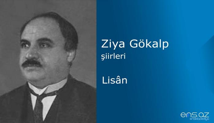 Ziya Gökalp - Lisan