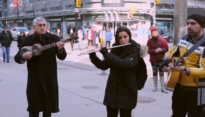Torontoda Xocalı soyqırımı ilə bağlı fləşmob keçirilib