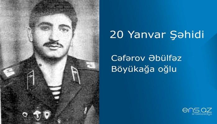 Cəfərov Əbülfəz Böyükağa oğlu