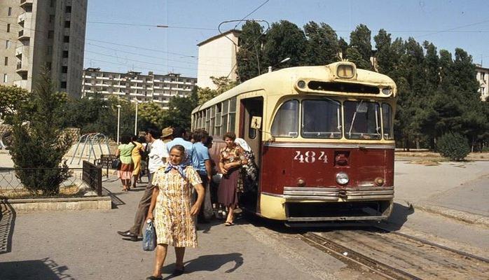 1980-е годы: Последние трамваи Баку (ФОТО)