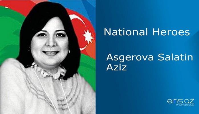 Asgerova Salatin Aziz