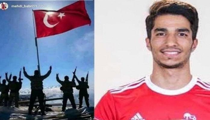 """Türk ordusuna dəstək olan """"Traktor""""un oyunçusu futboldan uzaqlaşdırıldı"""