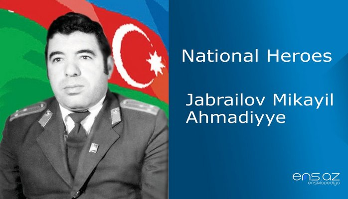 Jabrailov Mikayil Ahmadiyye