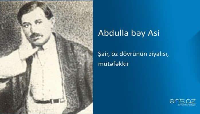 Abdulla bəy Asi