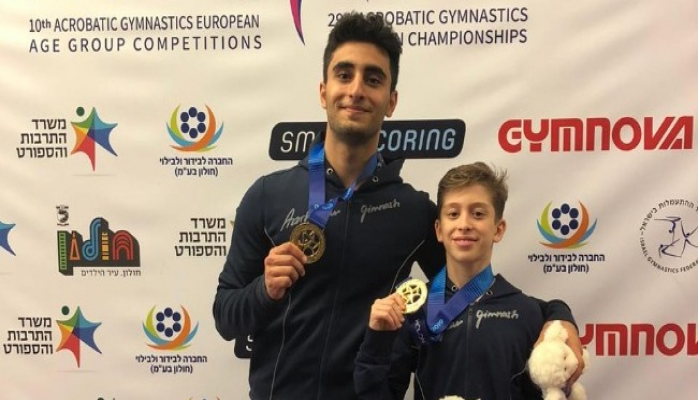 Azərbaycan akrobatları Avropa çempionatını 5 medalla bitirib