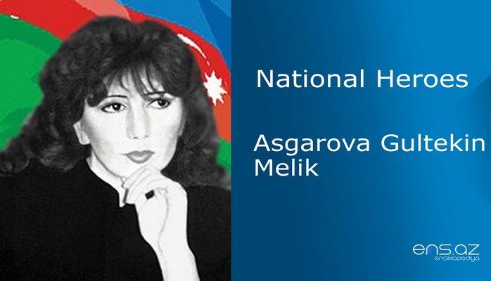 Asgarova Gultekin Melik