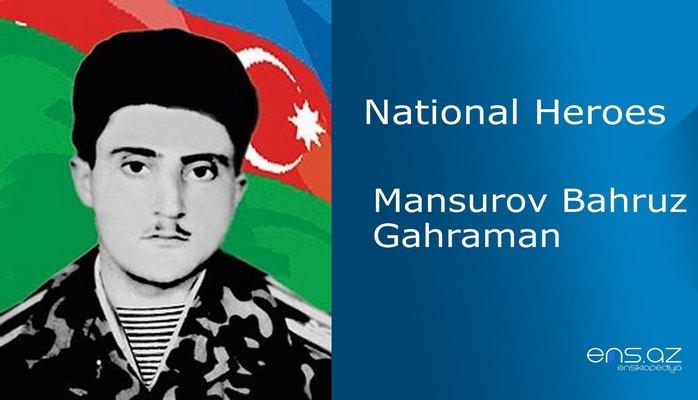 Mansurov Bahruz Gahraman
