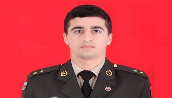 Azərbaycan ordusunun həlak olan zabiti ilə vida mərasimi keçirilir