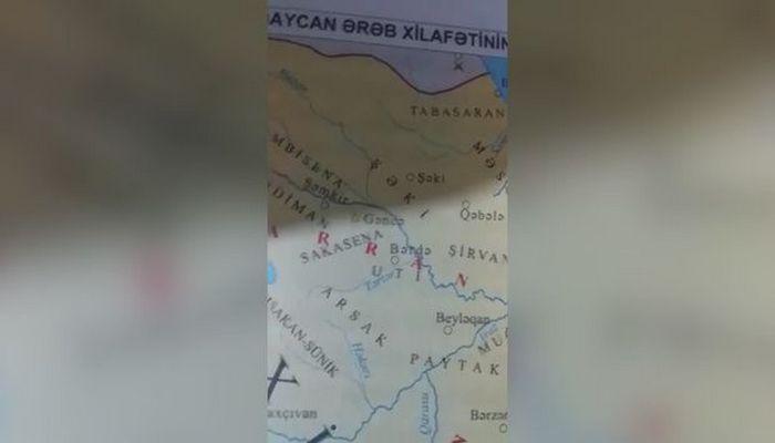 Azərbaycanda dərslikdə bağışlanmaz səhv
