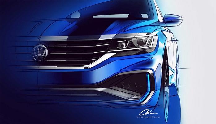 Volkswagen yeni Passat modelinin ilk şəkillərini göstərdi