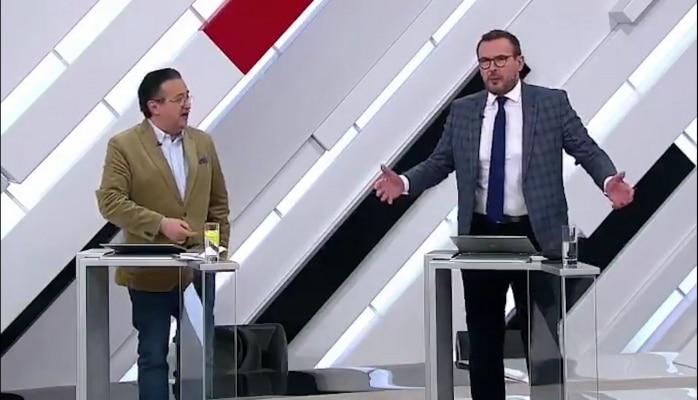 """Ukraynalı ekspert efirdə amerikalını """"nokauta saldı"""""""