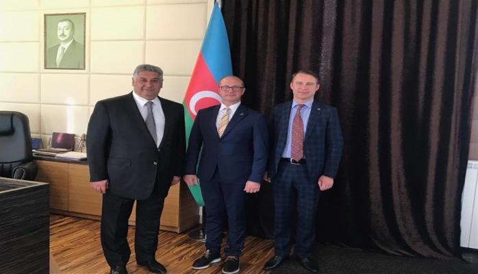 Azad Rəhimov Druskininkay meri ilə görüşdü