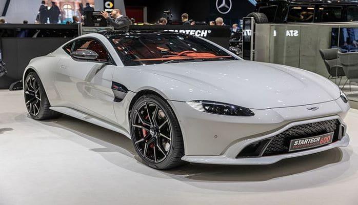 Aston Martin впервые показал родстер Vantage