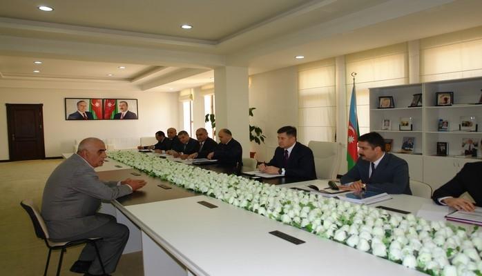 Əmlak Məsələləri Dövlət Komitəsinin sədri Qubada vətəndaşları qəbul edib