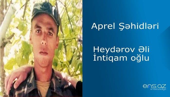 Əli Heydərov İntiqam oğlu