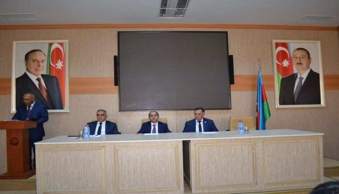 Dövlət Əmək Müfəttişliyi Xidməti Ucarda işəgötürənlərin iştirakı ilə seminar keçirib