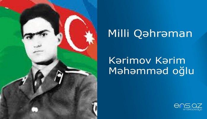 Kərimov Kərim Məhəmməd oğlu