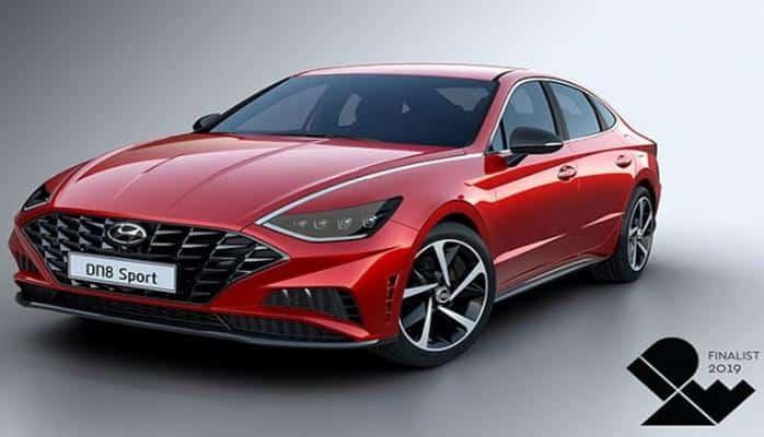 Tam Yeni dizaynda Hyundai Sonata