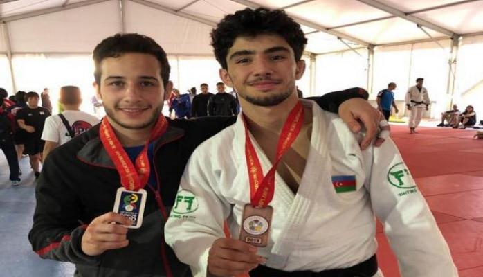 Azərbaycanın iki gənc cüdoçusu dünya birinciliyində medal qazanıb