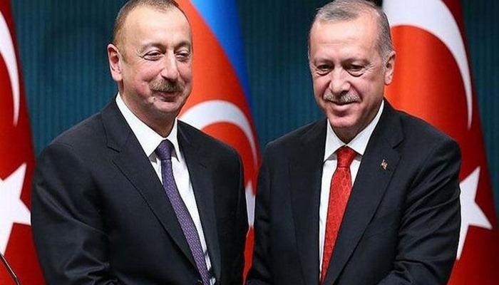 Başkan Erdoğan ve Azerbaycan Cumhurbaşkanı İlham Aliyev telefonda görüştü
