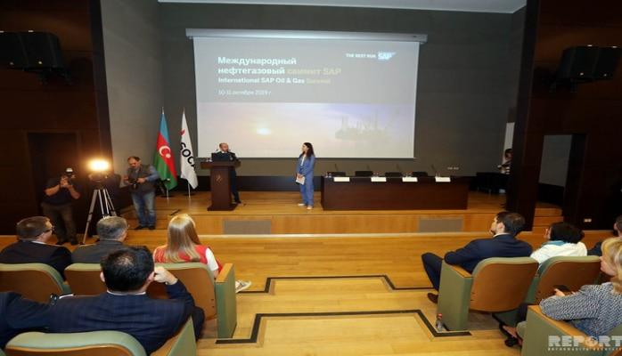 Bakıda 'SAP Energy' forumu işə başlayıb